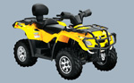 Can-Am Outlander Max 400 XT: подробнее