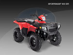 Квадроцикл Sportsman XP 800 EFI: подробнее