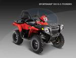 Квадроцикл Sportsman 500 H. O. Touring: подробнее