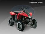 Квадроцикл Scrambler 500 4x4: подробнее