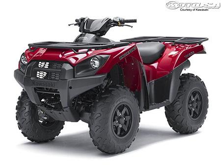 Новый Kawasaki Brute Force 2012 EPS