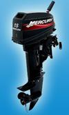 Лодочный мотор Mercury 15 M: подробнее