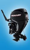 Мотор лодочный Mercury F 25 MLH GA EFI Jet: подробнее
