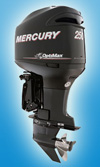 Лодочный мотор Mercury 250 XL OptiMax: подробнее