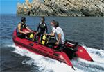 Б/у лодка Quicksilver Heavy-Duty 430: подробнее