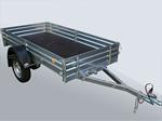 Прицеп бортовой для грузов, квадроцикла, мотоцикла МЗСА 817701.001-05: подробнее