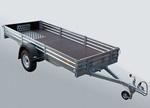 Прицеп для транспортировки снегоходов, квадроциклов и др. мототехники МЗСА 817711.001: подробнее