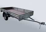 Прицеп для снегоходов и квадроциклов и других грузов МЗСА 817717.001-05: подробнее