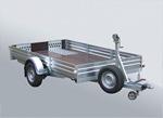 Прицеп для перевозки мототехники: вездеходов, двух снегоходов, квадроциклов, мотоциклов МЗСА 831134.102: подробнее