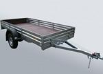 Прицеп для снегоходов и квадроциклов и других грузов МЗСА 817712.001-05: подробнее