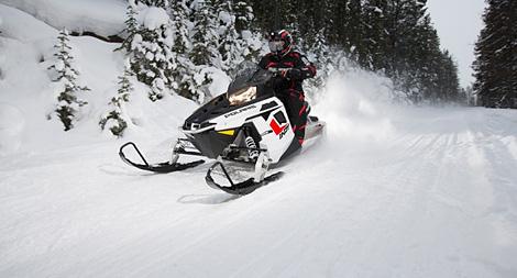 Снегоход Polaris 550 INDY VOYAGER